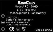 1500MA Battery Long Life for Drift HD170 HD-170 Stealth Mini HD Camera 1080P