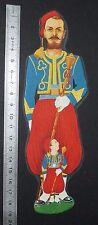 CHROMO MARQUE-PAGE SIGNET 1960 SIROP DE LYSINE B12 EGIC ZOUAVE TAMBOUR MAJOR