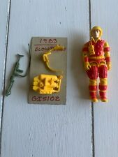 GI Joe action figure complete toy hasbro cobra vtg 1984 Blowtorch blow torch