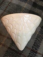 Great Vintage Arthur Wood Art Deco Spider Web Wall Pocket