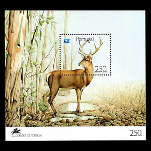 Portugal 1991 - European Year of tourism Fauna - Sc 1838 MNH