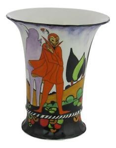 Marie Graves Freehand Ceramic Artist 15cm Ceramic Vase The Mephisto Design