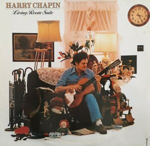 Harry Chapin-Living Room Suite Vinyl LP.1978 Elektra 6E 142.Flowers Are Red+