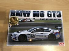 BMW M6 GT3 2016 ITALIA MONZA 24 Hours 1:24 Model Kit Bausatz  Platz nunu PN24003