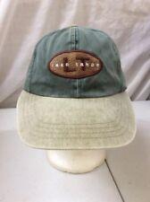 trucker hat baseball cap Vintage Hook And Loop LAKE TAHOE