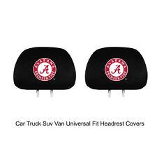 New Team ProMark NCAA Alabama Crimson Tide Head Rest Covers For Car Truck Suv