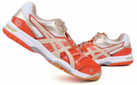 ASICS GEL ROCKET 7 Men's Badminton Shoes Orange Indoor Shoes Racket B405N-3005