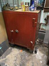 antique safe vault
