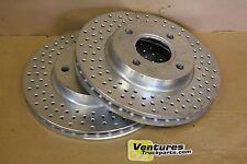 2 ea Brembo Disc Brake Vented Rotors 4 Lug 10 Inch Diameter F5RZ-1125A/B Brembo