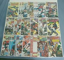 Lot of 21 Spider-Man Comic Books Web of, Amazing, Spectacular, Deadly Foes