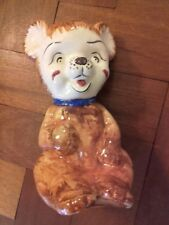 Vintage Price Kensington Ceramic Bear Moneybox 1950s 1960s Kitsch. With stopper.
