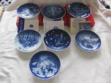 Bing & Grondahl Jule Aften Christmas Plates - Set Of 7 - 1992 1993 1994 1995 +