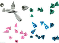 SURGICAL STEEL LIP TRAGUS EYEBROW LIP LABRET BELLY BAR REPLACEMENT BALL SPIKE