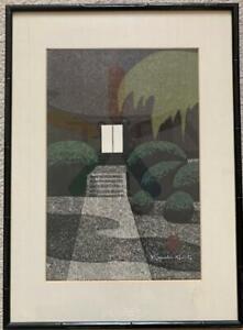 Kiyoshi Saito Jokoji Temple Signed Woodblock Print Nice!