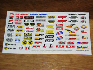 1/10-1/12-1/8 SCALE MODEL KIT DECAL SHEET *RC CAR/clear vinyl/chemical resistant