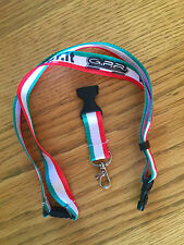 GPR GRAND PRIX RACING MOTORCYCLE EXHAUST LANYARD PITPASS AUTHENTIC MADE IN ITALY