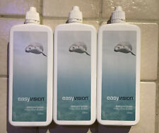 Specsavers easy vision contact lens solution 3 x 250ml bottles. New & Sealed.