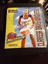 Clarissa Davis Autograph 11x13 Texas Longhorns Hof Usa Wnba Basketball Auto Fiba