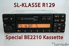 Original Mercedes Special be2210 becker r129 SL-clase w129 casete autorradio