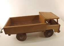 Dejou camion plateau en bois longueur 41 cm années 60