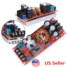1200W DC-DC Boost Converter Power Supply 12-80V Continuously Adjustable 262g USA