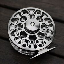 95mm 7/8 CNC Machined Aluminum Fly Fishing Reel Large Arbor Right or Left Handed