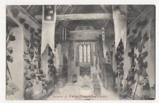 Interior of Farley Hungerford Chapel Postcard, M025