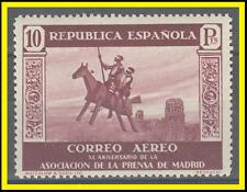 SPAGNA 1936 premere ASSOC POSTA AEREA 10 PTS Don Quijote ed 725-valore chiave Gomma integra, non linguellato-RARE