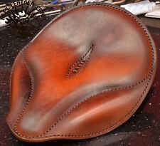 Bobber Sitz gr XL Solo Seat Harley Softail Oldtime Custom Chopper Hell Tan