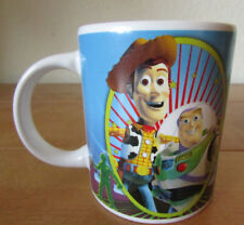 FAB *TOY STORY* CHILD SIZE CERAMIC MUG WOODY BUZZ ALIEN HAMM BULLSEYE REX
