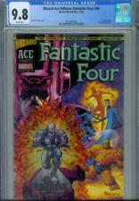 WIZARD ACE EDITION: FANTASTIC FOUR #48 CGC 9.8, 2002 ACETATE COVER SILVER SURFER