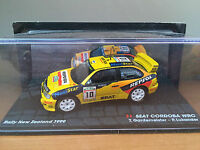"DIE CAST "" SEAT CORDOBA WRC RALLY NEW ZELAND 1999 "" PASSIONE RALLY SCALA 1/43"