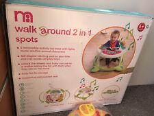 Mothercare Walk Around 2 in 1 spots walker