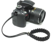 "The ""Cordy Pro"" Paracord Camera Wrist Strap - Handmade by Cordweaver"