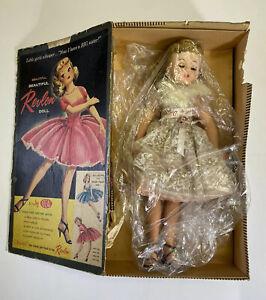 Vintage Revlon Doll Kissing Pink 09602 Blonde Hair White Dress Ideal Toy Corp.