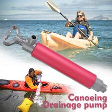 Manual Pump Floating Large Capacity Kayak Canoe Bilge Drainage Pump Fish Boat AU