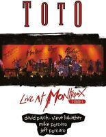 TOTO LIVE AT MONTREUZ 1991 DVD NEW SEALED ROSANNA AFRICA I'LL BE OVER YOU