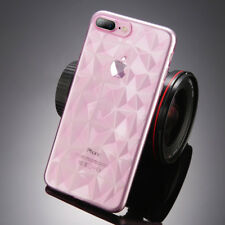 Hybrid Shockproof Clear Diamond Soft Silicone Case Cover For iPhone Samsung S9/8