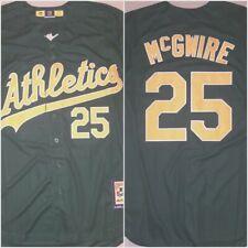 low priced f9af6 9f8e4 Mark McGwire Oakland Athletics MLB Jerseys for sale   eBay