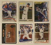 ⚾️Michael Conforto 6-CARD LOT including ROOKIE 2016 Topps Bunt #143