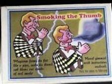 SMOKING THUMB GAG Stage Street Smoke Fire Magic Trick Adult Cigarette Gimmick