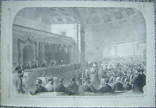 Supreme Court Washington Mississippi Injunction Case Harper's Weekly 1867 Origin