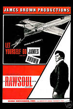 1960's Raw Soul: James Brown * RAW SOUL * Promotional Poster 1967  12x18