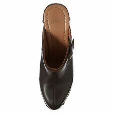 New TOPSHOP SEANNA closed toe clogs UK 6 in Chocolate