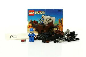 Lego Western Cowboys Set 6716 Weapons Wagon 100% complete + instructions 1996