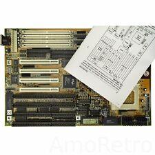 586 scheda madre Soyo 5te2, Socket 7, Intel FX chipset, PCI + Isa per DOS/WIN Retrò