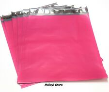 100 PINK COLOR POLY MAILER BAGS 7.5 x 10.5 BOUTIQUE SHIPPING ENVELOPE MAILING