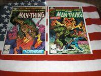 MAN -THING    NO.3  & NO.4  NM-  1980   * HIGH GRADE * UNREAD MARVEL COMICS