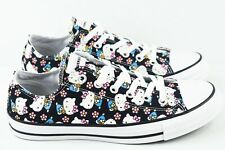 Converse Chuck Taylor Hello Kitty Womens Size 7.5 Shoes Black 165765C
