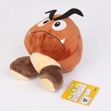 Super Mario Bros. Brown Goomba Plush Stuffed Toy Animal Mushroom Figure Doll